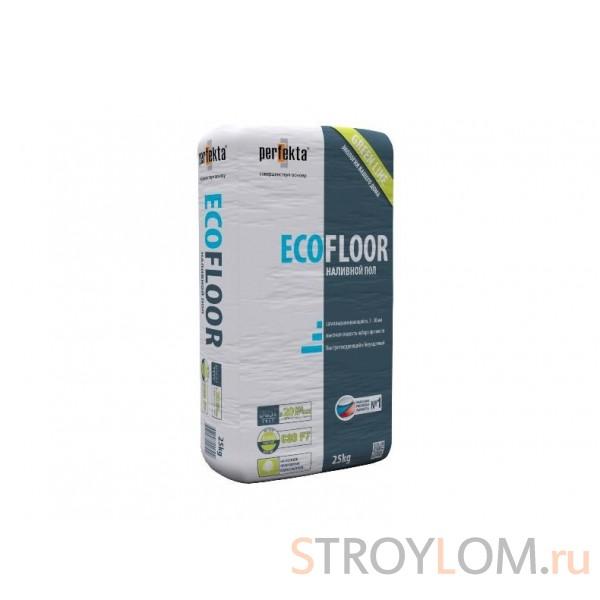 Быстротвердеющий безусадочный наливной пол GREEN LINE ECOFLOOR 20кг