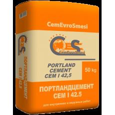 Цемент CemEuroSmesi М500 CEM I 42,5 50 кг