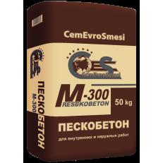Сухая смесь М-300 ПЕСКОБЕТОН CemEuroSmesi 50кг.
