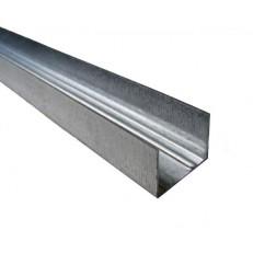Профиль направляющий ПН 27х28 мм толщина металла 0,60мм