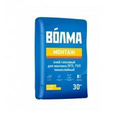 Клей гипсовый Волма Монтаж 30 кг