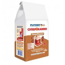 Раствор для ремонта печей и каминов Plitonit Суперкамин Терморемонт 5 кг