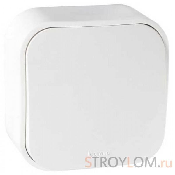 Выключатель Legrand Quteo 782200 одноклавишный белый
