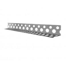 Профиль угловой Албес PL 20х20 мм алюминиевый перфорированный 3000 мм
