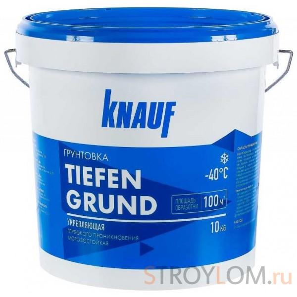 Грунтовка Knauf Тифенгрунд морозостойкая 10 кг