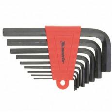 Ключи имбусовые MATRIX HEX 2,0–12 мм