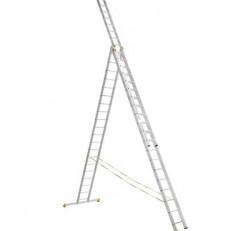 Лестница трехсекционная усиленная Алюмет 9320 3х20