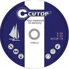 Круг отрезной по металлу Cutop 12516 Т41-125х1,6х22,2