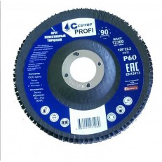 Круг лепестковый торцевой Cutop Profi 70-12580 P80 125х22,2 мм