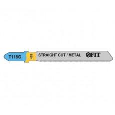 Полотна для электролобзика Fit 40963 T118G HSS 2 шт