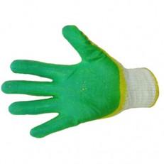 Перчатки рабочие с двойным латексным обливом
