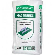 Клей для плитки Основит Мастпликс АС12 25 кг