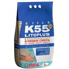 Клей для мозаики Litokol Litoplus K55 5 кг