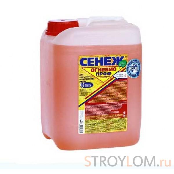 Деревозащитный препарат Сенеж Огнебио Проф 6 кг