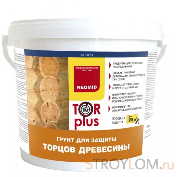 Антисептик для торцов древесины NEOMID TOR PLUS  5 л