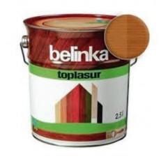 Лазурное покрытие для защиты древесины BELINKA TOPLASUR Орех (№16) 2,5л.