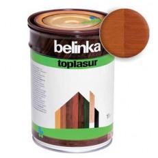 Лазурное покрытие для защиты древесины BELINKA TOPLASUR Тик (№17) 1л