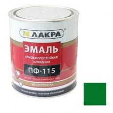 Эмаль Лакра ПФ-115 зеленая 2 кг