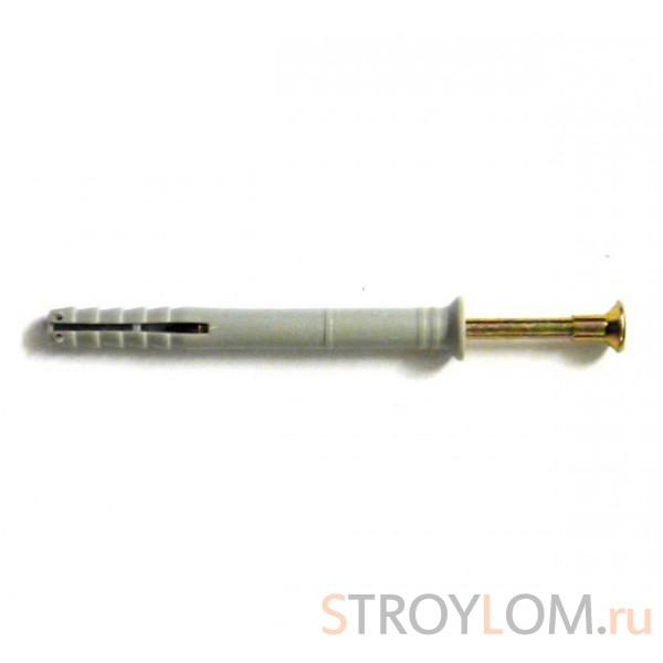 Дюбель-гвоздь 6х40 мм с потайным бортиком