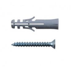 Дюбель с шурупом Хортъ 6х35/4х35 мм 9 шт