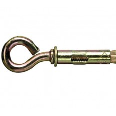Болт анкерный 10х80 мм с кольцом