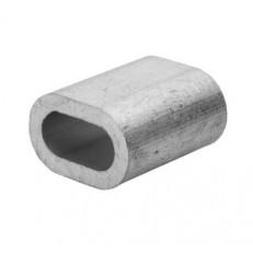 Зажим для троса Tech-Krep алюминиевый 6 мм