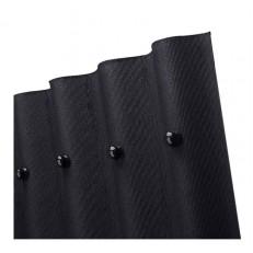 Лист кровельный волнистый Ондулин Smart черный 950х1950 мм