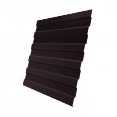 Профнастил С8 Grand Line Optima Pe 0,45 мм RAL 8017 шоколадно-коричневый