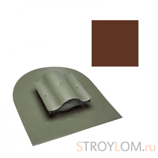 Вентиль кровельный Vilpe Huopa KTV коричневый