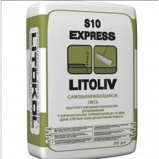 Смесь для пола самовыравнивающаяся Litokol LitoLiv S10 Express 20 кг