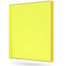 Поликарбонат монолитный Borrex желтый 4 мм
