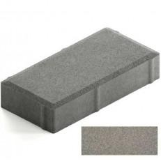 Брусчатка Steingot Лайт 40 из серого цемента с полным прокрасом прямоугольник темно-серая 200х100х40 мм