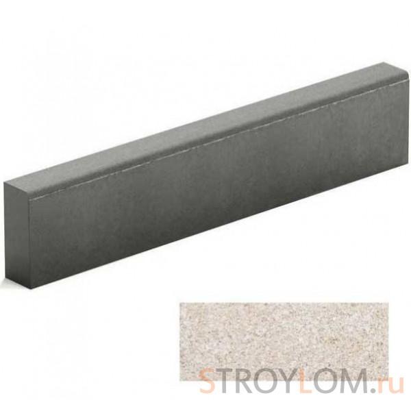 Бордюр тротуарный Steingot из белого цемента белый 1000х200х80 мм