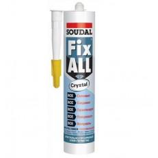 Клей-герметик полимерный Soudal Fix All Crystal прозрачный 290 мл