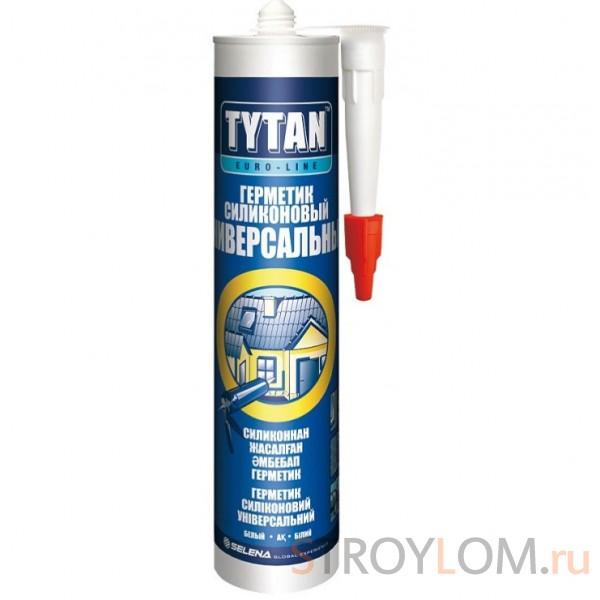 Герметик силиконовый Tytan Euro-Line универсальный бесцветный 290 мл