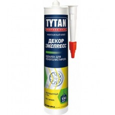 Жидкие гвозди Tytan Professional Декор Экспресс белый 310 мл