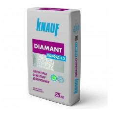 Knauf Диамант Короед 1,5 мм белая 25 кг Штукатурка цементная декоративная