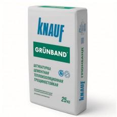 Штукатурка цементная теплоизоляционная Knauf Грюнбанд серая 25 кг