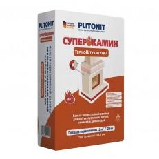 Plitonit Суперкамин Термоштукатурка белый 25 кг