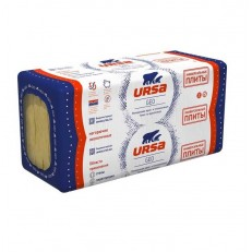 Утеплитель Ursa Geo Универсальные плиты П-15 1000х600х100 мм