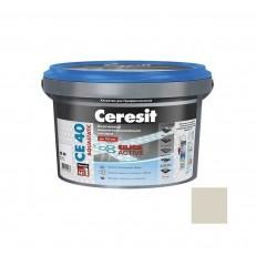 Затирка Ceresit CE 40 Aquastatic Багамы бежевая 2 кг