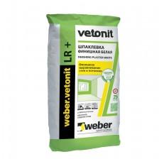 Шпатлевка финишная Weber.Vetonit LR+ 25 кг