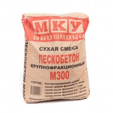 Пескобетон МКУ  М300  40 кг купить
