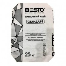 Плиточный клей BESTO СТАНДАРТ 25 кг