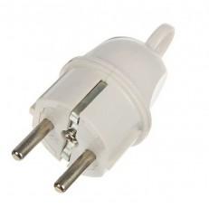 Вилка электрическая TDM SQ1806-0405 16А угловая с ушком
