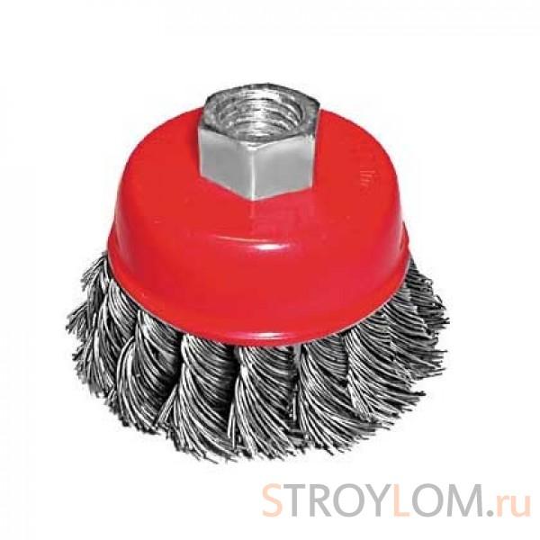Щетка для УШМ Fit 39466 чашка 65 мм