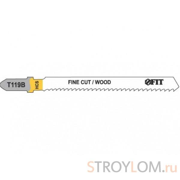 Полотна для электролобзика Fit 40936 Т119В HCS 2 шт