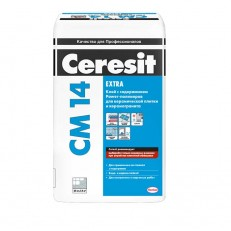 Клей для керамической плитки и керамогранита Ceresit CM 14 25 кг