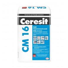 Клей для плитки эластичный Ceresit CM 16 25 кг