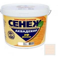 Антисептик тонирующий Сенеж Аквадекор 101 Иней 9 кг